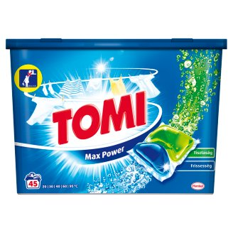Tomi White Caps Liquid Washing Capsules 45 Washes