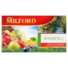 Milford Fruit Infusion Windfall Tea with Apple Flavoured with Plum-Quince Taste 20 Tea Bags 50 g