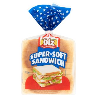 Ölz Super Soft Sandwich Wheat Bread 375 g