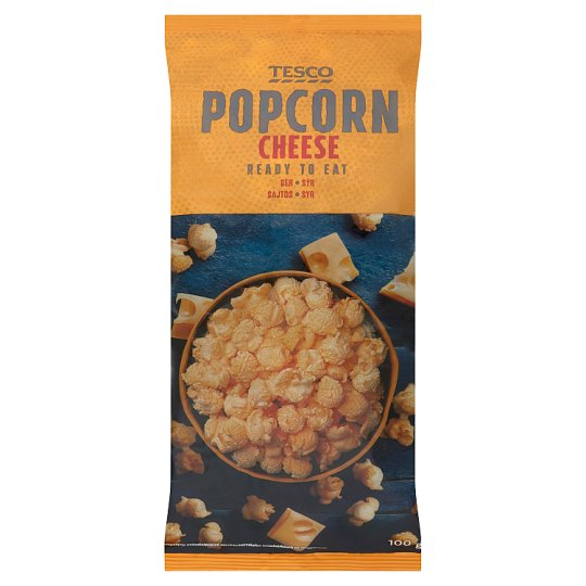 Tesco Ready to Eat Cheese Popcorn 100 g