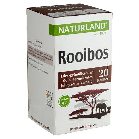 Naturland Életmód Rooibos Tea 20 Tea Bags 30 g