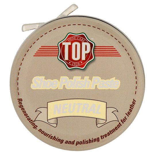Top Neutral Shoe Polish Paste 50 ml