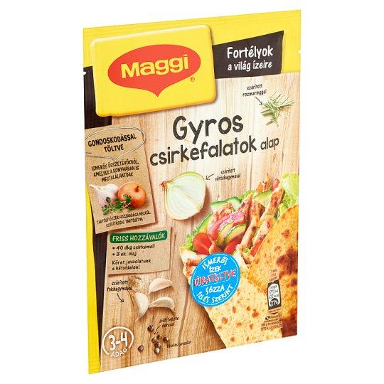 Maggi Fortélyok a világ ízeire Gyros Chicken Nuggets Base 28 g