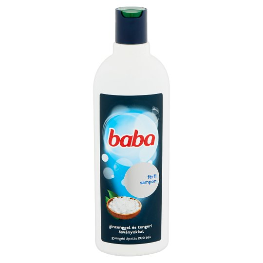 Baba Shampoo for Men with Ginseng and Sea Minerals 400 ml
