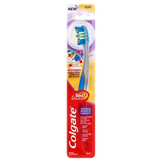 Colgate 360° Advanced Whole Mouth Health Soft Toothbrush