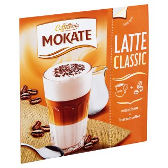 Mokate Latte Classic azonnal oldódó kávéspecialitás 22 g