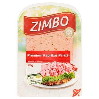 Zimbo Premium Bologna Sausage with Paprika 70 g