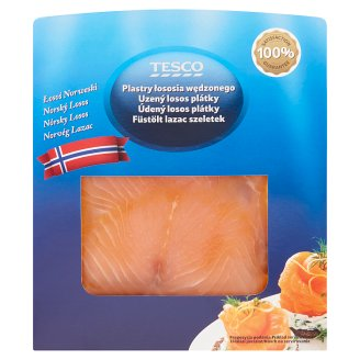 Tesco Cold Smoked Salmon Slices 100 g