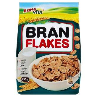Bona Vita Bran Flakes Cereal Flakes 450 g