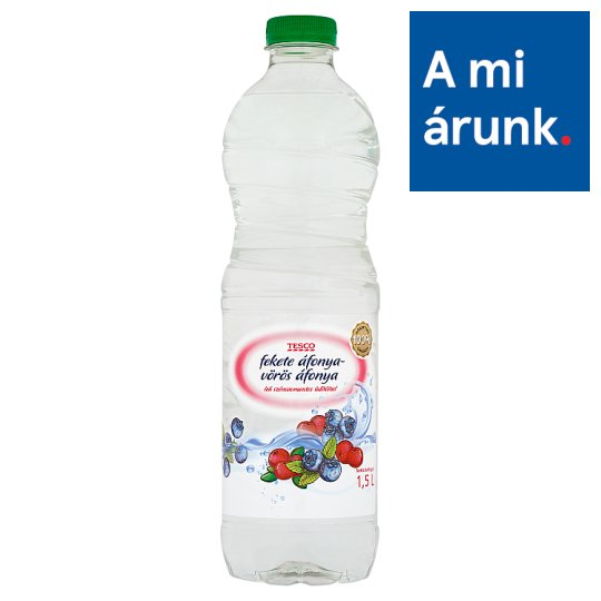 Tesco Black Cranberries and Red Cranberries Flavoured Low-Energy Non-Carbonated Drink 1,5 l