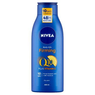 NIVEA Q10 Energy+ Firming Body Milk for Dry Skin 400 ml
