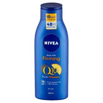 NIVEA Q10 Energy+ bőrfeszesítő testápoló tej száraz bőrre 400 ml