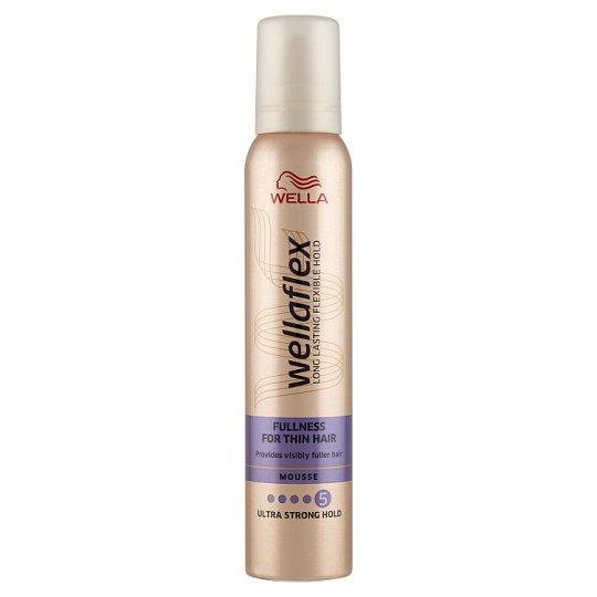 Wella Wellaflex Fullness for Thin Hair Ultra Strong Hold Mousse 200 ml