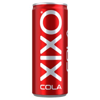 XIXO Cola Flavoured Reduced Energy- and Sugar Content Carbonated Drink 250 ml