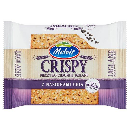 Melvit Crisper Wholegrain Millet Crispbread with Chia Seeds 100 g