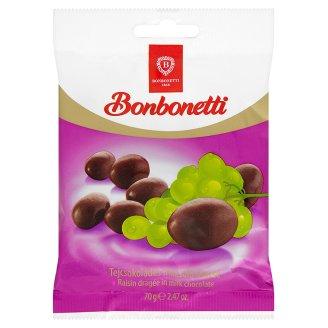 Bonbonetti tejcsokoládés mazsola drazsé 70 g