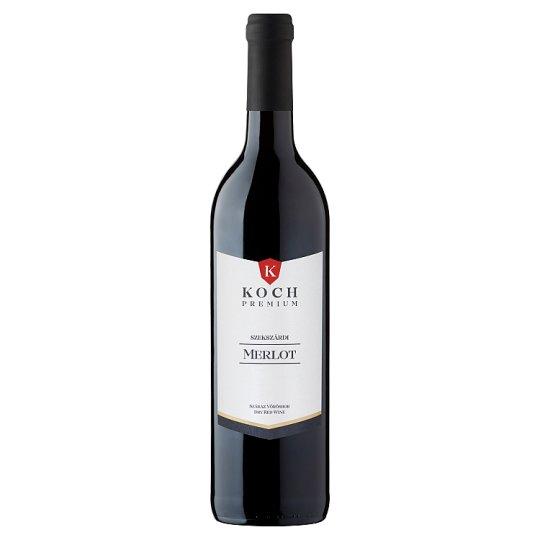 Koch Premium Szekszárdi Merlot Dry Red Wine 0,75 l