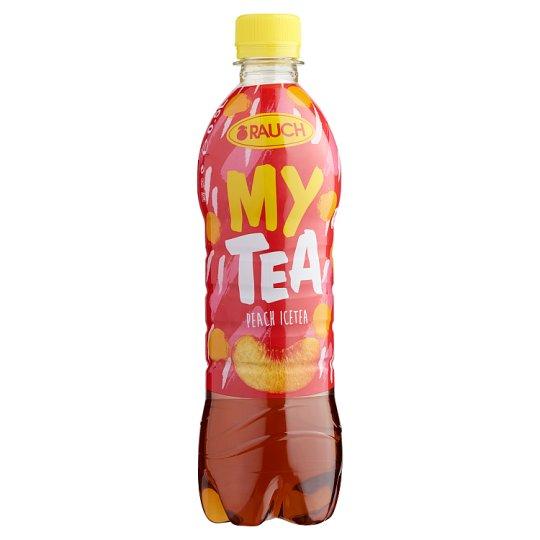 Rauch My Tea Ice Tea őszibarackos üdítőital fekete teából 0,5 l