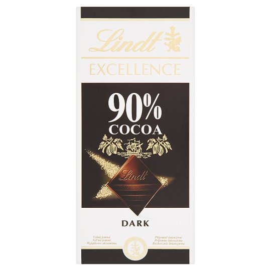 Lindt Excellence Dark Chocolate 90% 100 g