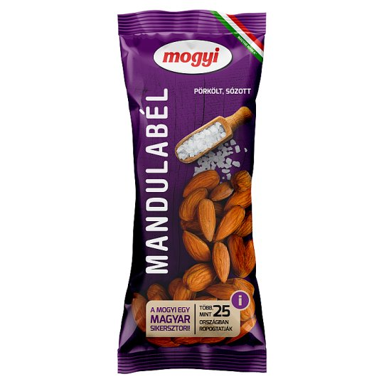 Mogyi Roasted, Salted Almonds 70 g