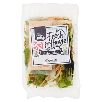 K&K Family Expressz Salad with Thousand Island Dressing 150 g