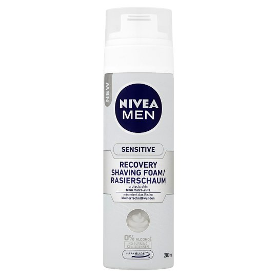 NIVEA MEN Sensitive Recovery borotvahab 200 ml