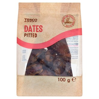 Tesco Pitted Dates 100 g