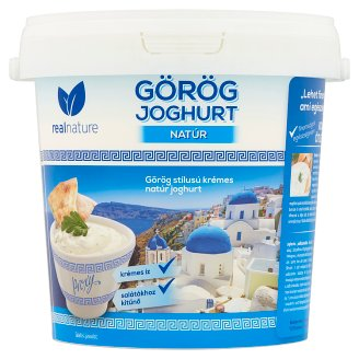 Real Nature Proxy Unflavoured Greek Yoghurt with Live Cultures 1 kg