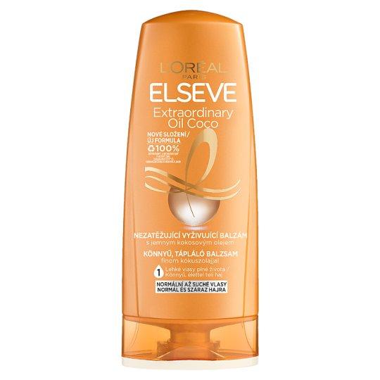 L'Oréal Paris Elseve Extraordinary Oil könnyű, tápláló balzsam kókuszolajjal 200 ml