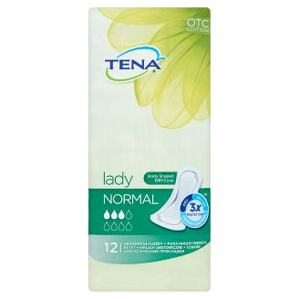 Tena Lady Normal Soft Incontinence Pads 12 pcs