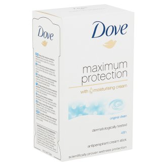 Dove Maximum Protection Original Clean izzadásgátló krém dezodor 45 ml