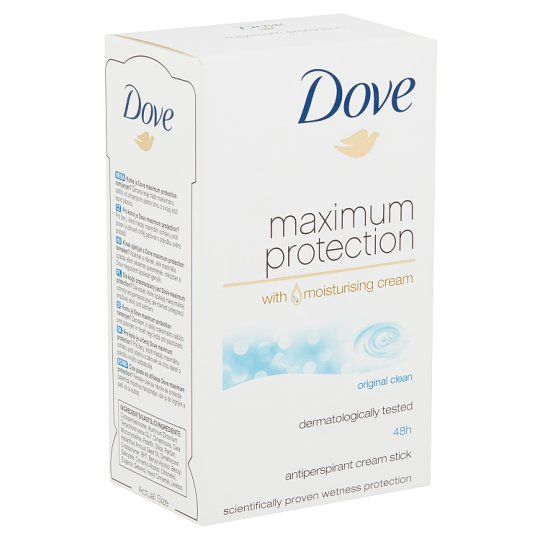 Dove Maximum Protection Original Clean Anti-Perspirant Cream 45 ml