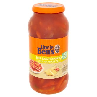 Uncle Ben's Sweet & Sour Sauce with Extra Pineapples 675 g