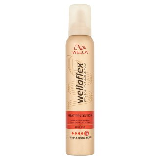 Wellaflex Heat Creations Ultra Strong Hold Mousse 200 ml