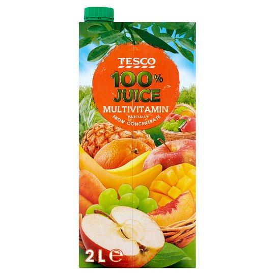 Tesco 100% multivitamin vegyes gyümölcslé 2 l