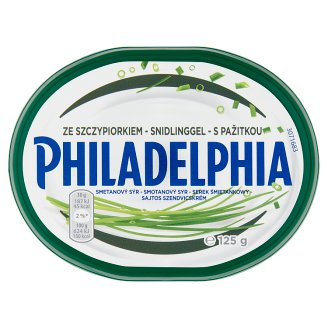 Philadelphia Sandwich Cream with Sour Cream and Chive 125 g