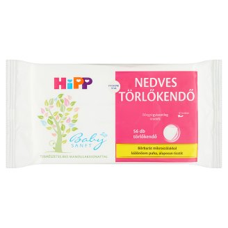 HiPP Babysanft Wet Wipes with Natural Organic Almond Extract 56 pcs