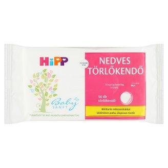 HiPP Babysanft nedves törlőkendő természetes BIO mandulakivonattal 56 db