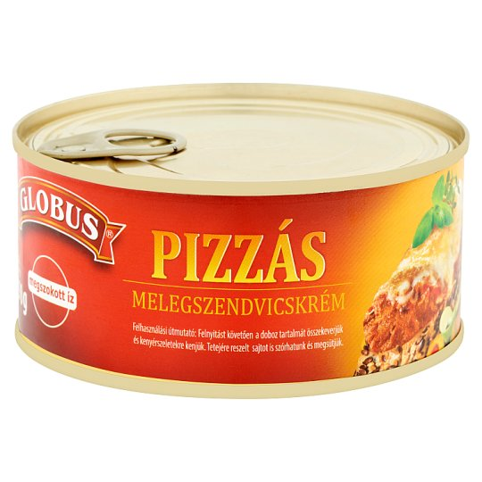 Globus pizzás melegszendvicskrém 290 g