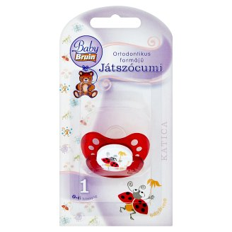 Baby Bruin Katica Orthodontic Soother 1 0-6 Months