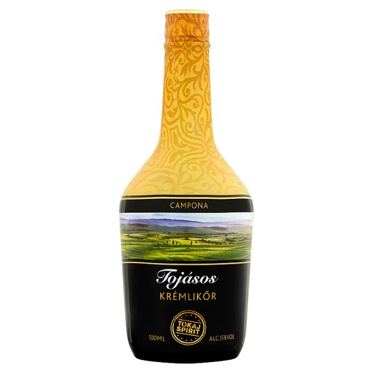 Tokaj Spirit tojásos krémlikőr 15% 500 ml