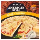 Tesco American Style Quick-Frozen Pizza with Tomato Sauce and 4 Cheese 395 g