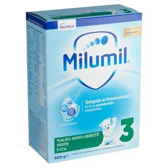 Milumil 3 anyatej-kiegészítő tápszer 9-12 hó 600 g