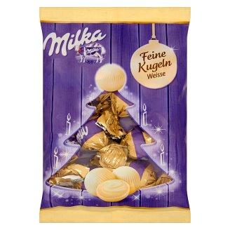 Milka fehércsokoládé karácsonyi bonbon 90 g
