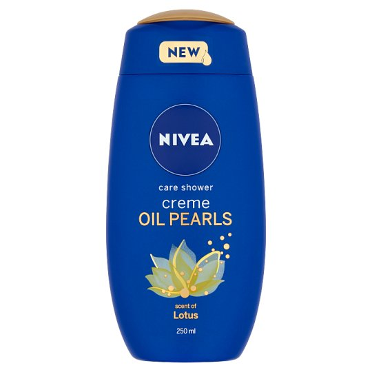 NIVEA Cream Oil Pearls krémtusfürdő 250 ml