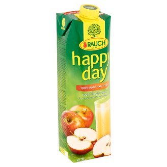 Rauch Happy Day 100% szűretlen almalé C-vitaminnal 1 l