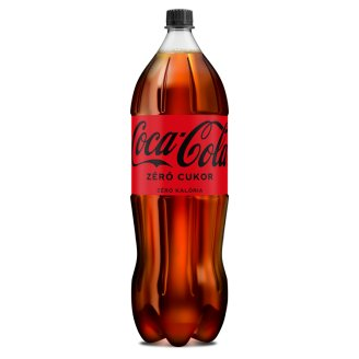 Coca-Cola Zero Energy-Free Carbonated Soft Drink with Sweeteners 2,25 l
