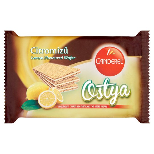 Canderel Lemon Flavoured Cream Filled Wafers with Sweetener 40 g