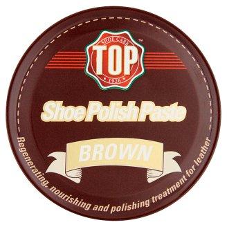 Top Brown Shoe Polish Paste 50 ml