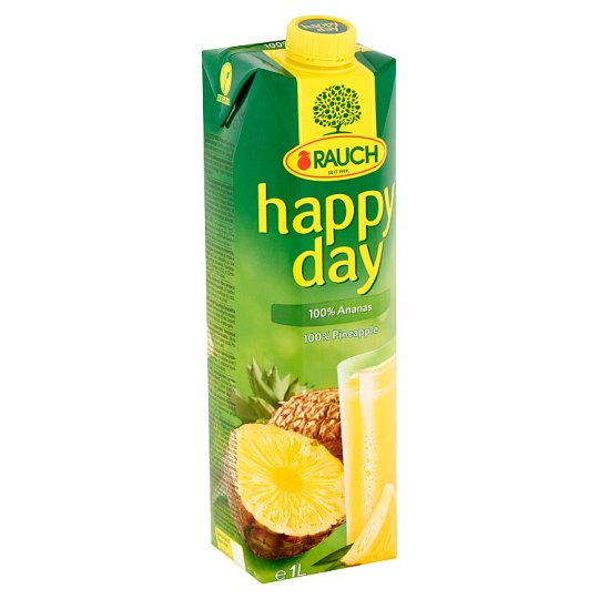 Rauch Happy Day 100% Pineapple Juice 1 l